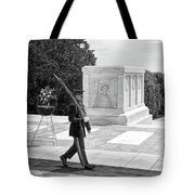 Guarding The Unknown Soldier Tote Bag