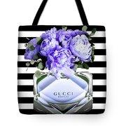 Gucci Perfume Violet Tote Bag