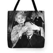 Guess Who's Here Tote Bag