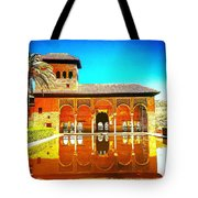 Guest House At The Alhambra Tote Bag