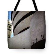 Guggenheim Museum Exterior Tote Bag