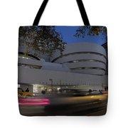 Guggenheim Museum New York  Tote Bag