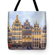 Guild Houses At The Grote Markt Tote Bag