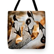Guineafowl Family Tote Bag