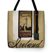 Guinness As Usual Athlone Ireland Tote Bag