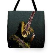 Guitar Abstract Tote Bag