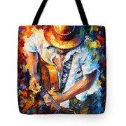 Guitar And Soul Tote Bag