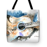 Guitar Riffs... Tote Bag