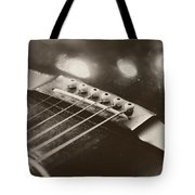 Guitar Strings Tote Bag