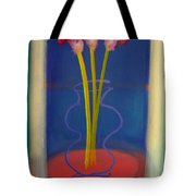 Guitar Vase Tote Bag