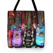Guitarras Floriadas II Tote Bag