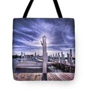 Gulf Coast Blues Tote Bag