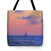 Gulf Coast Sailboat Tote Bag
