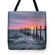 Gulf Coast Sunrise Tote Bag