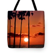 Gulf Coast Sunset Tote Bag