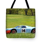 Gulf Mirage Ford Gt40 Tote Bag