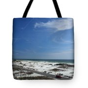 Gulf Of Mexico At Pensacola Beach Tote Bag