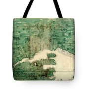 Gulf Of St Lawrence 1541 Tote Bag