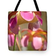 Gulf Purple Pitcher Plant Tote Bag