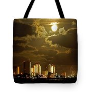 Gulf Shores Night Skys Tote Bag
