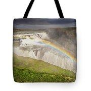 Gulfoss Waterfalls Tote Bag