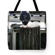 Gull And Pier 1 Tote Bag