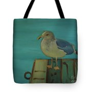 Gull And Ring Tote Bag