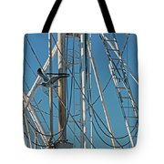 Gull At Sandwich Marina Tote Bag