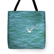 Gull Over The Gulf Tote Bag