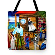 Gullah Christmas Tote Bag by Diane Britton Dunham