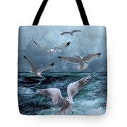 Gulls' Banquet Tote Bag
