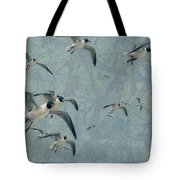Gulls Tote Bag by James W Johnson