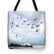 Gulls Of Carmel Tote Bag