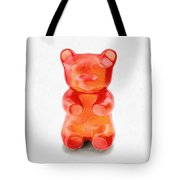 Gummy Bear Red Orange Tote Bag