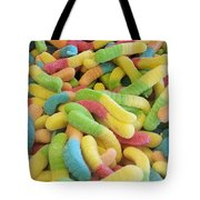 Gummy Worms Tote Bag