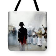 Gun Smoke Tote Bag