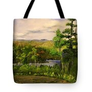 Gunflint Overlook Tote Bag