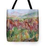 Gunnison Ridge Colorado Tote Bag