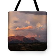 Gunnison Sunset Tote Bag