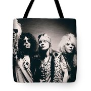 Guns N' Roses - Band Portrait Tote Bag