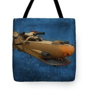 Gunship Tote Bag