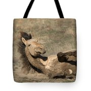 Gunsmoke Dustbath Tote Bag