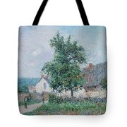 Gustave Loiseau 1865 - 1935 Small Farm In Vaudreuil, Time Gray Tote Bag