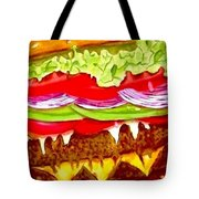 Gut Buster Tote Bag