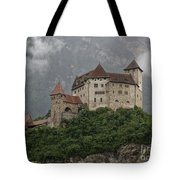 Gutenberg Castle Tote Bag by Yair Karelic