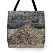 Gutter With Sand And Screw Tote Bag