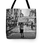 Guwahati In Black And White Tote Bag