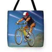 Guy In The Sky Tote Bag