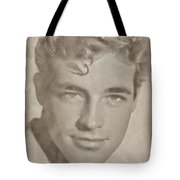 Guy Madison, Vintage Hollywood Actor Tote Bag