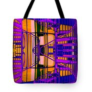 Gym Staircase Tote Bag